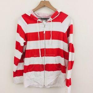 Tommy Bahama Stripe Full Zip Hoodie